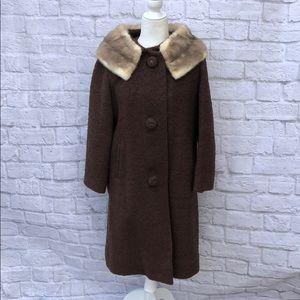 1960s fur coat union made